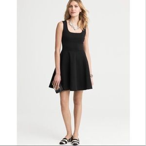 Banana Republic Black Fit and Flare Dress, sz 4